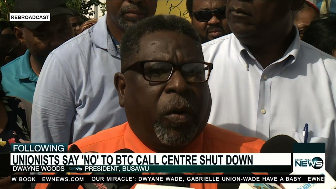 BTC employees say 'no' to call center shutdown