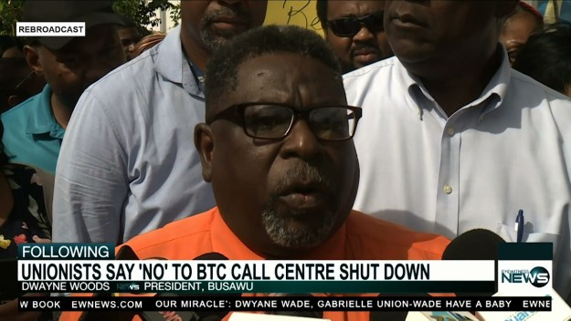 BTC employees say 'no' to call center shutdown