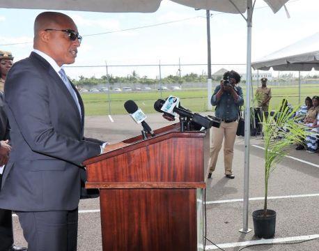 Dames congratulates Department of Correctional Services graduates
