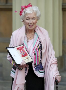Longtime British comedy star June Whitfield dies at 93