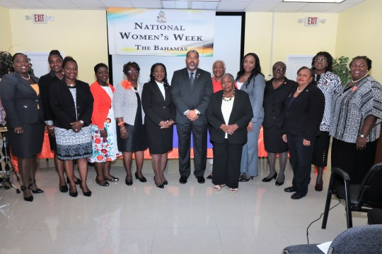 Social Services minister lauds women in politics