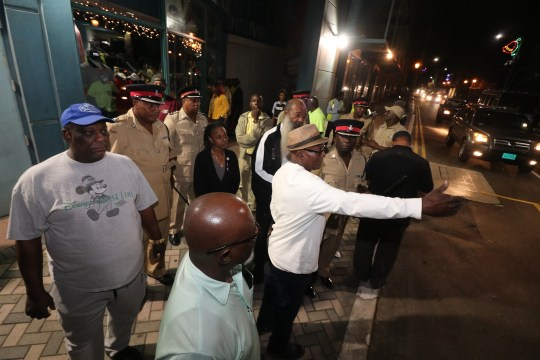 Culture officials conduct walkthrough of Junkanoo parade route