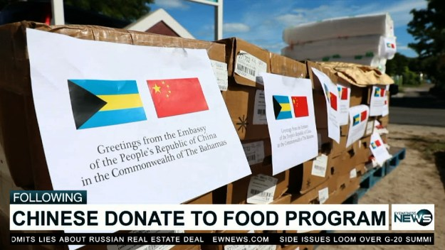 BFN gets $3,000 food donation from the Chinese