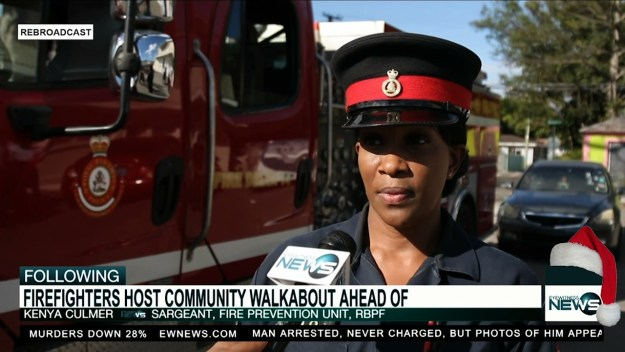 New Fire Services Unit recruits promote safety