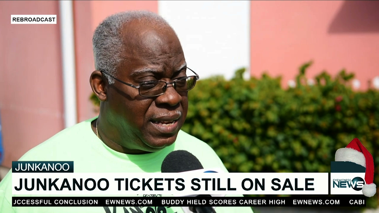 Tickets still on sale today for Junkanoo parade