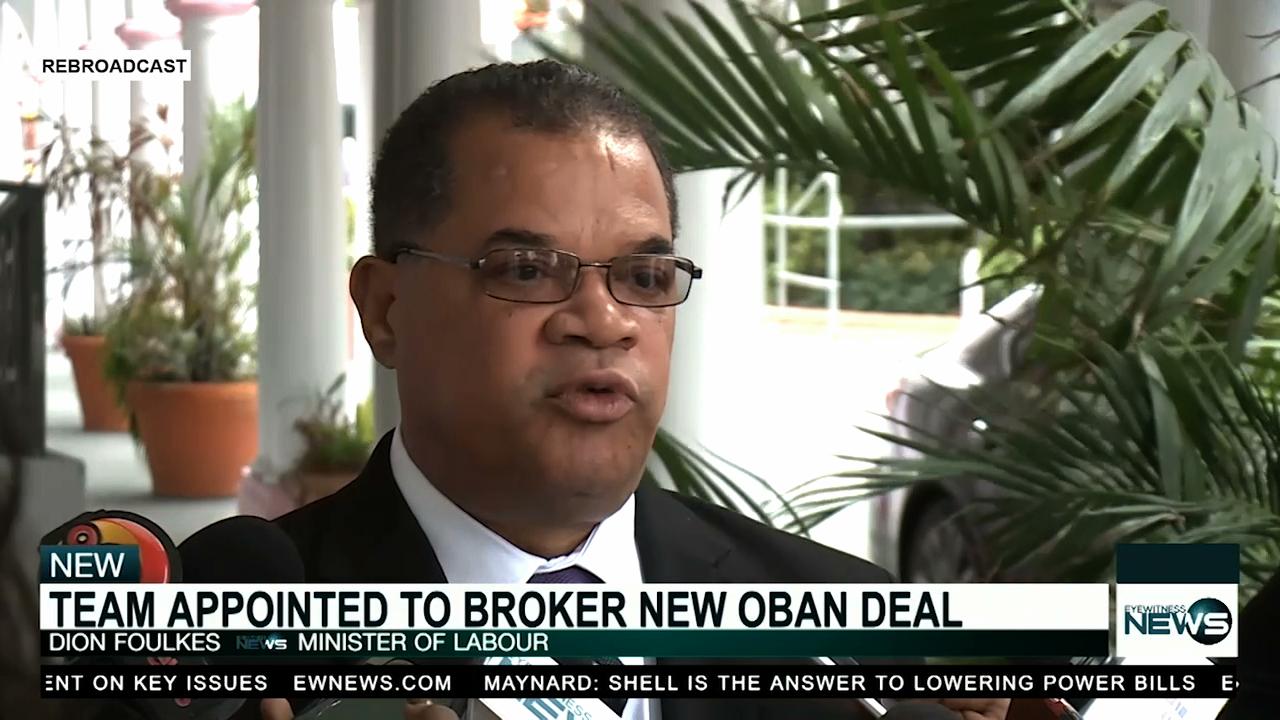 Oban renegotiation team appointed