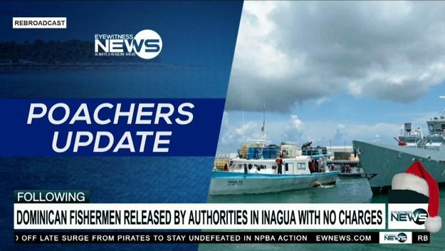 Arrested Dominican fishermen released