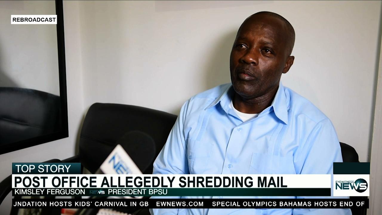 "BPSU president alleges General Post Office ""shredding"" mail"
