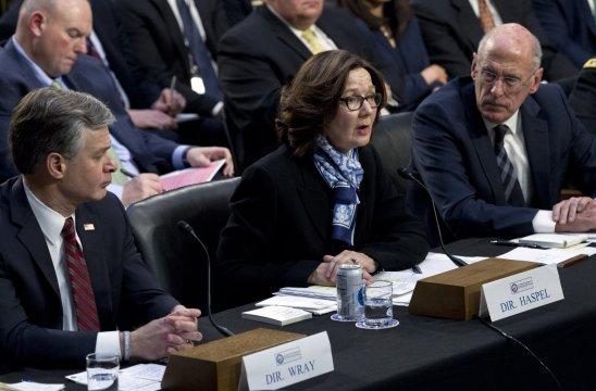 US intel heads list North Korea, not border, as threat to US
