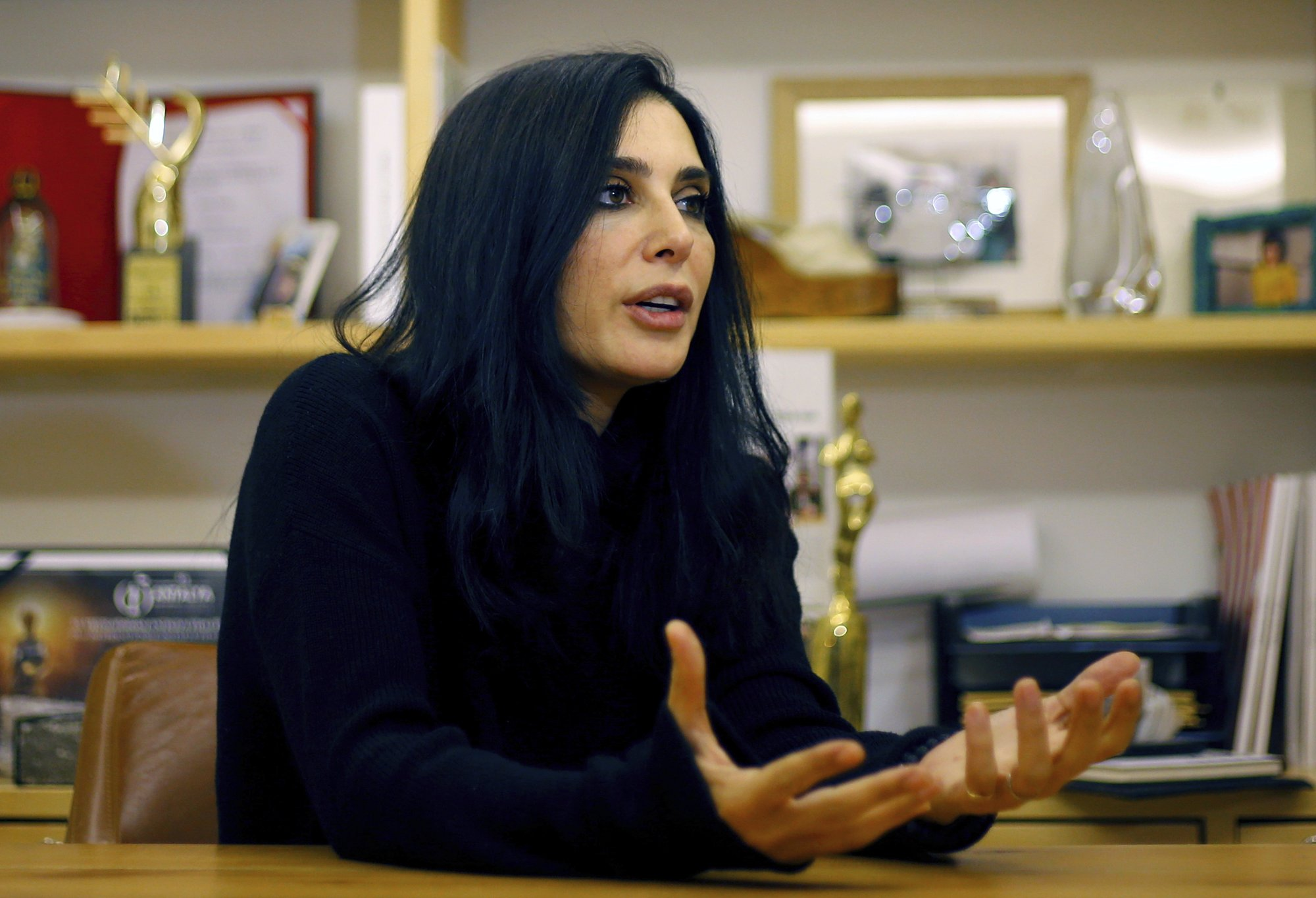 Lebanon's star filmmaker makes Oscars history with her nom