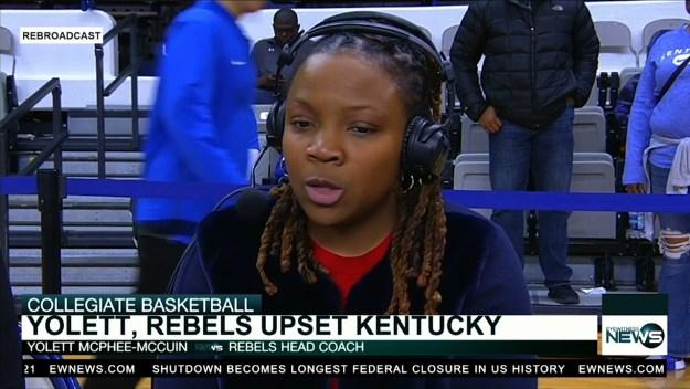 McPhee-McCuin's Rebels upset No. 16 Kentucky