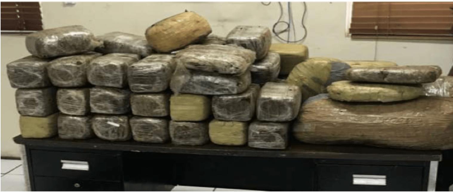 334lbs of suspected marijuana found in Bimini mangroves