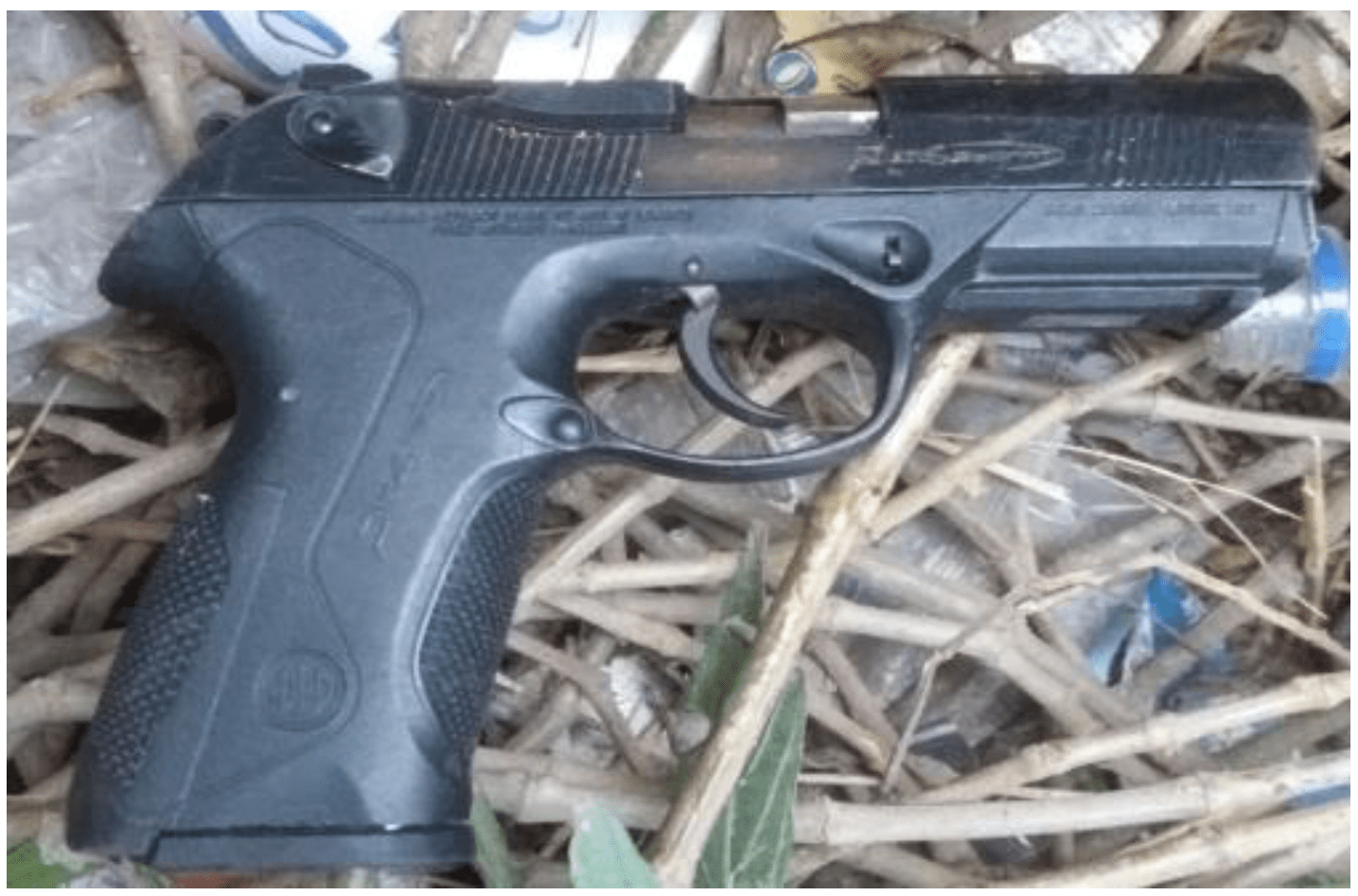 Illegal firearm recovered