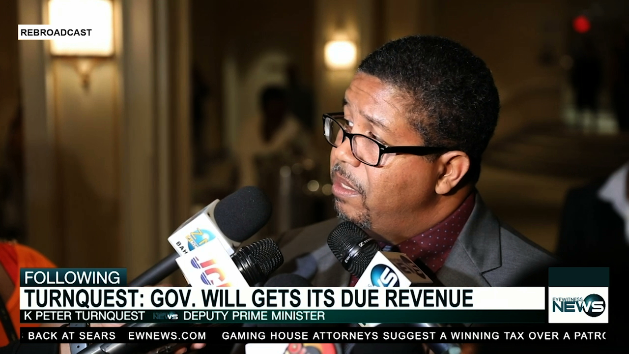 """Turnquest: """"I expect to collect the government's revenue, point blank"""""""
