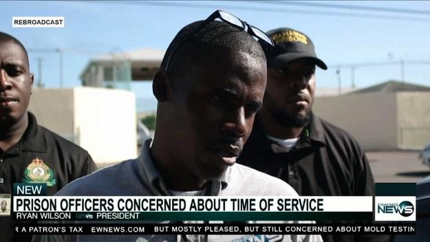 Prison staff association president outlines concerns