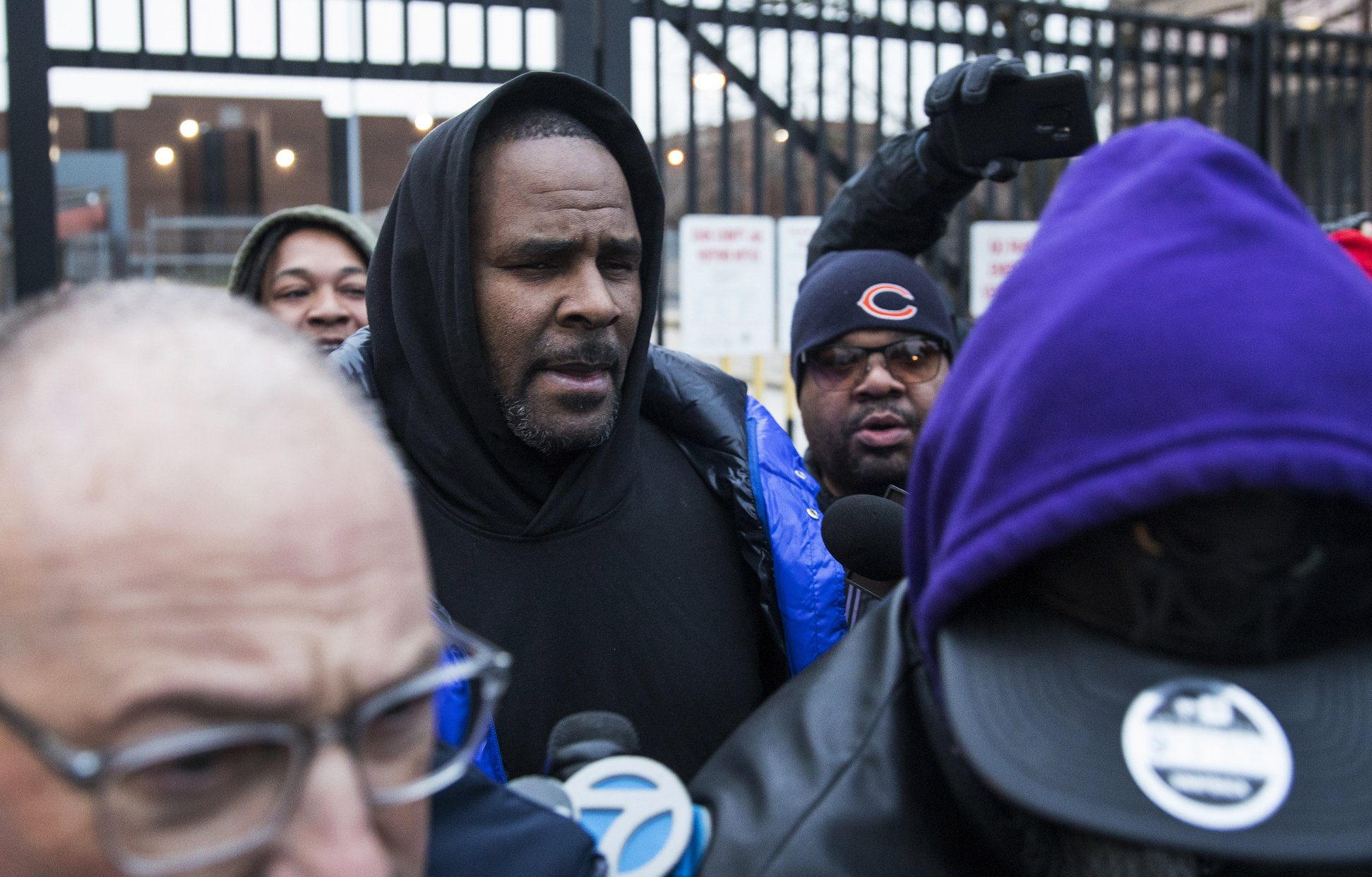 The Latest: Suburban Chicago woman posts R. Kelly's bail
