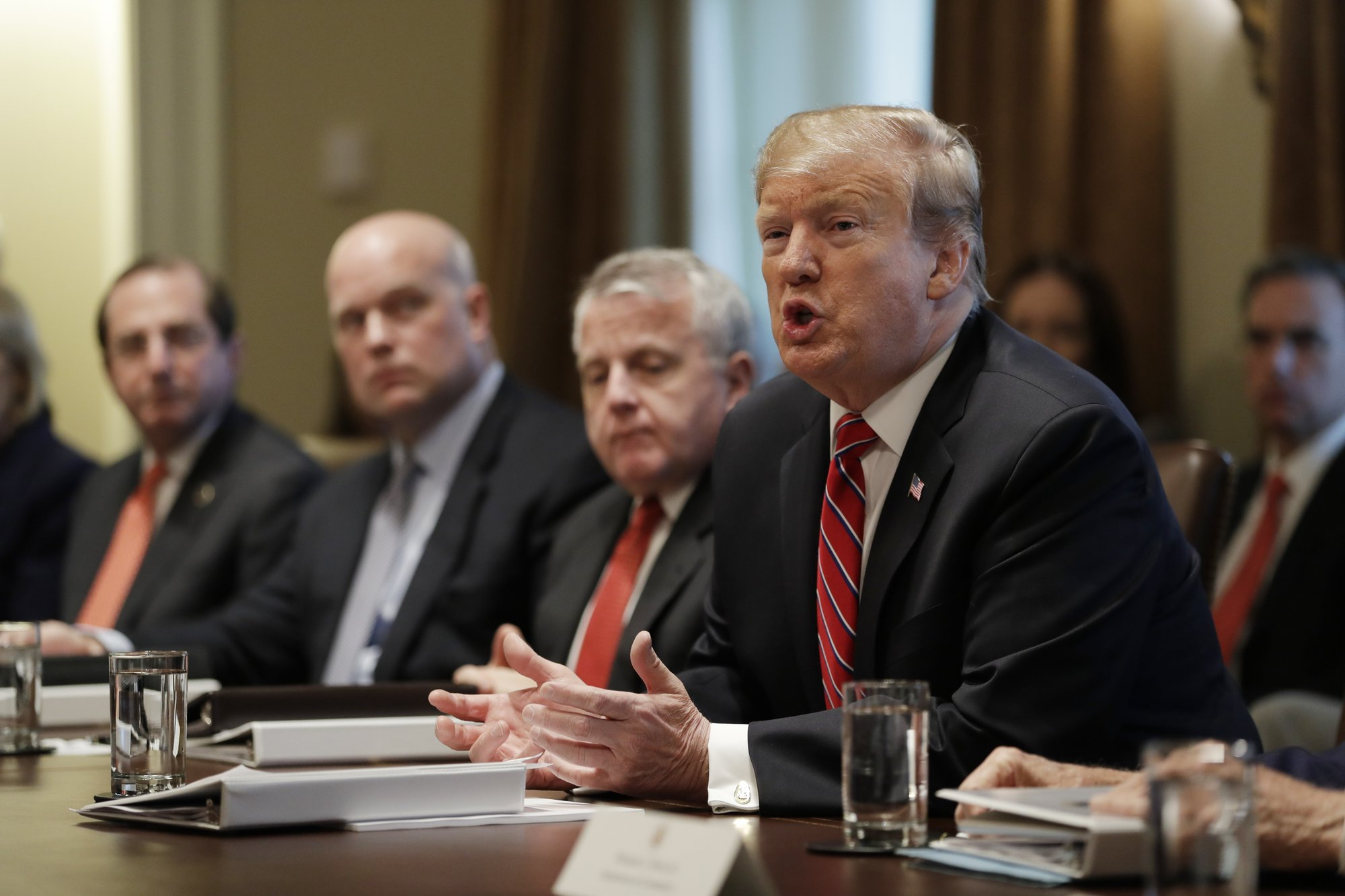 The Latest: Trump appears to be ready to accept budget deal