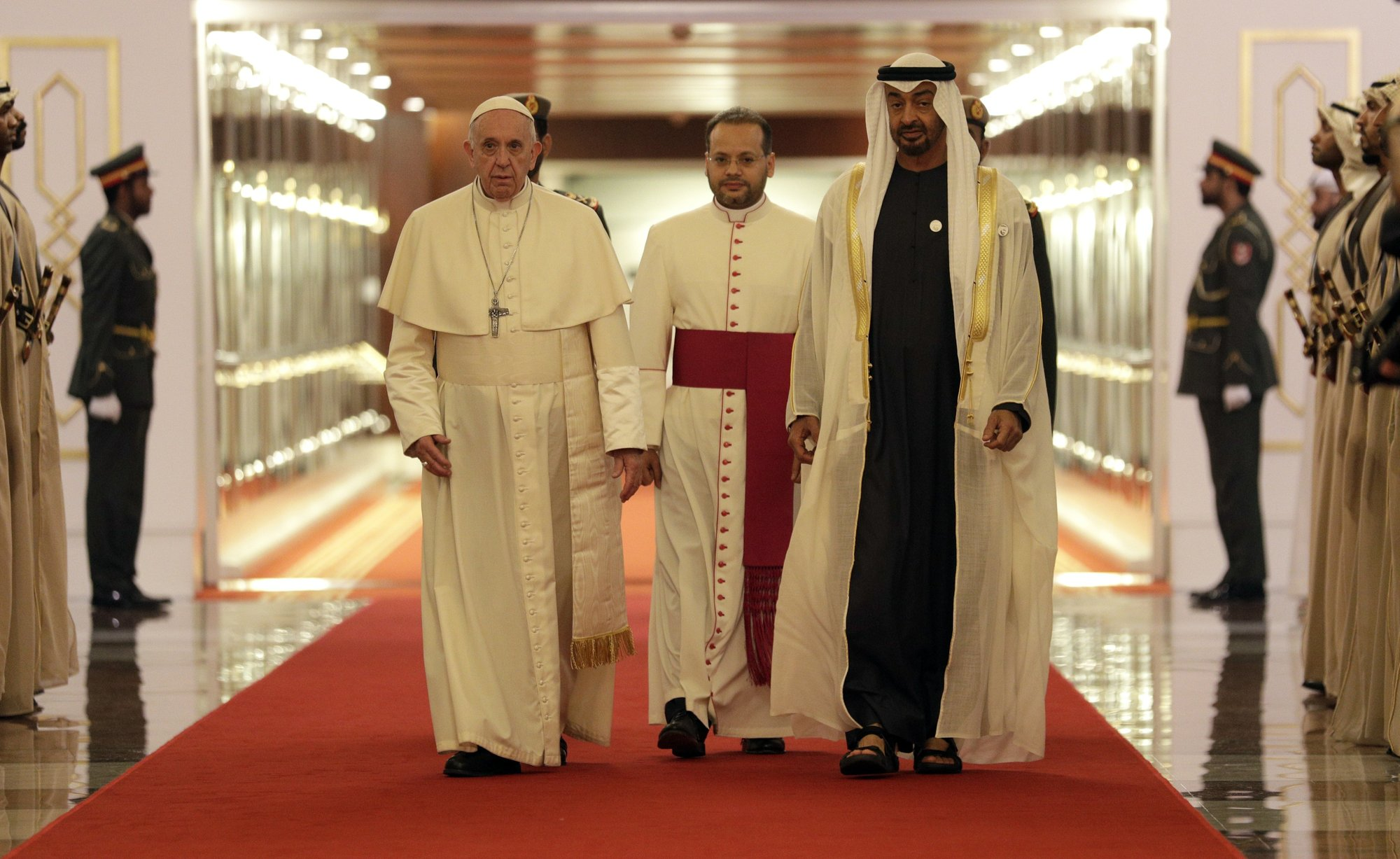 Pope in UAE for historic trip after call for Yemen relief