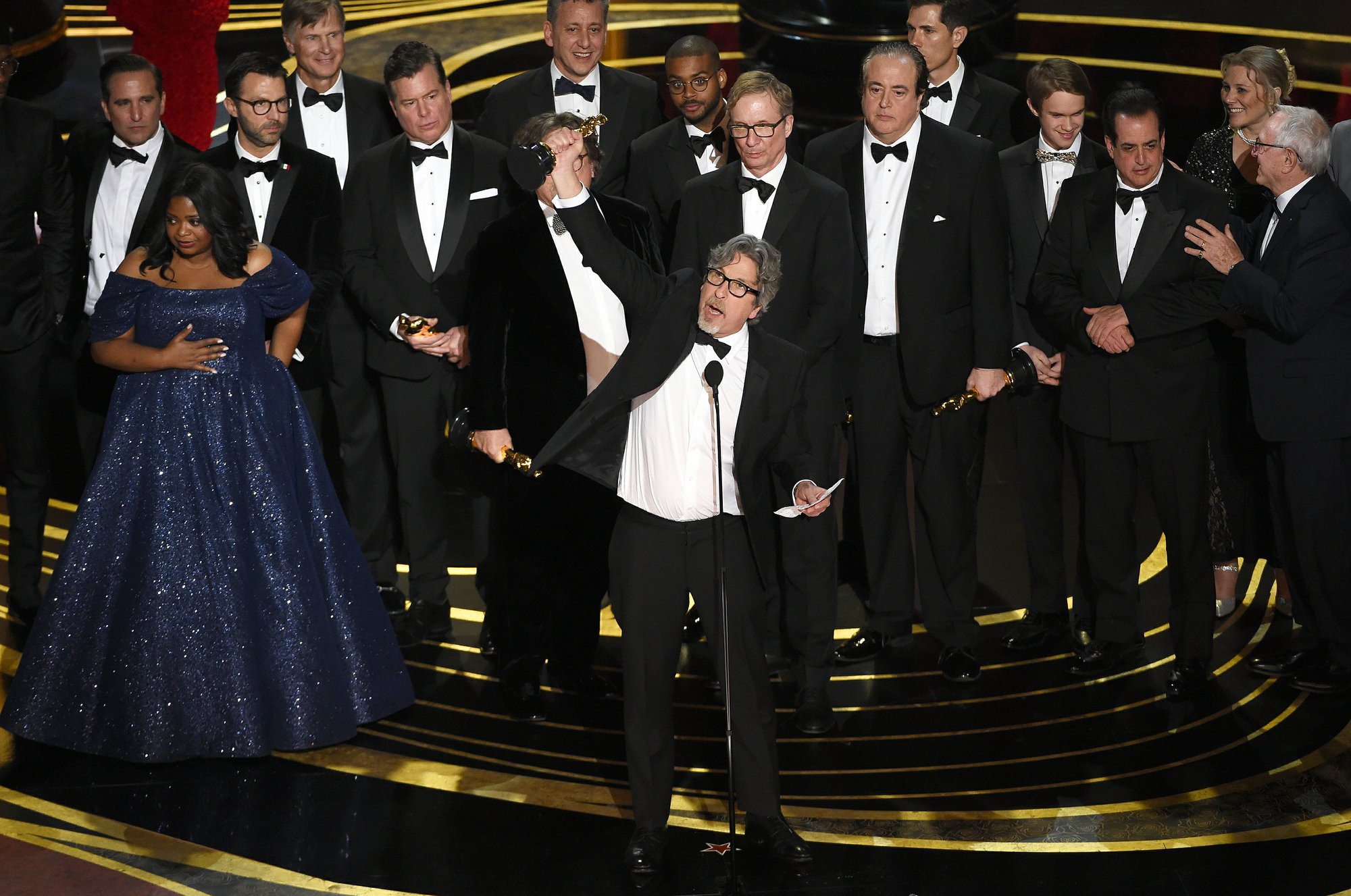 Green Book' wins best picture at the Oscars in an upset