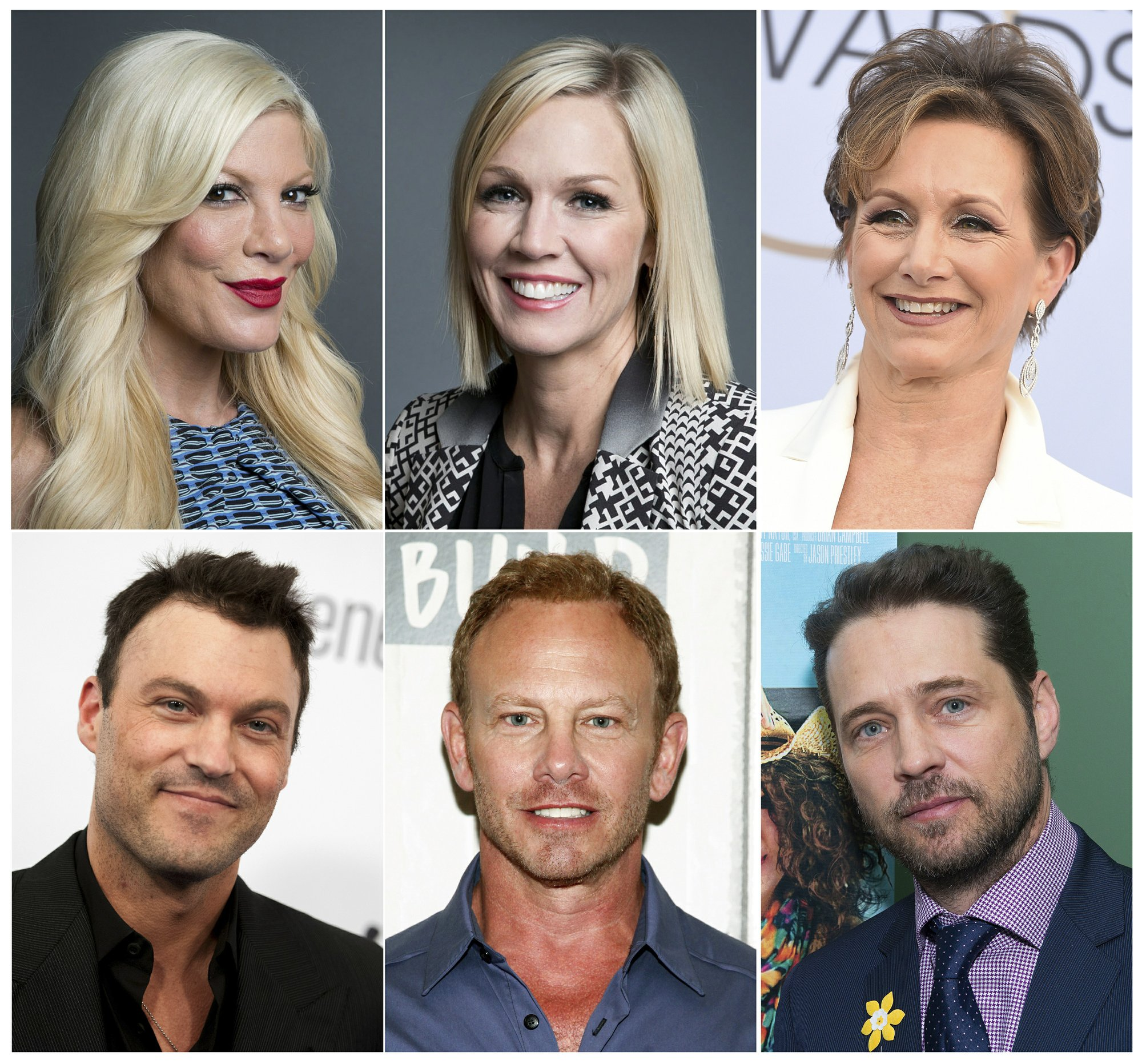 'Beverly Hills, 90210' cast reunites, 'irreverence' in store