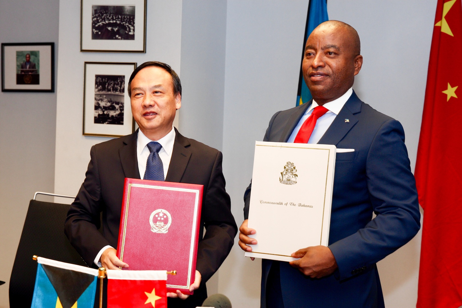 Bahamas signs $12 million bilateral agreement with China for economic, technical cooperation