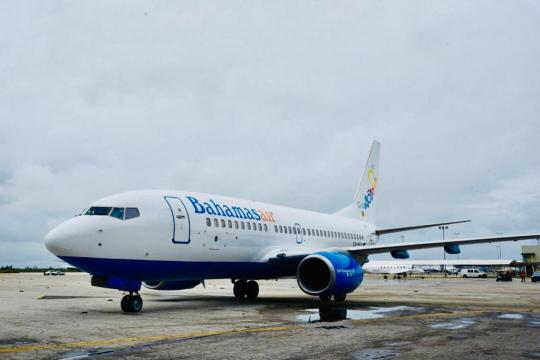 Bahamasair commissions new 138-seater jet