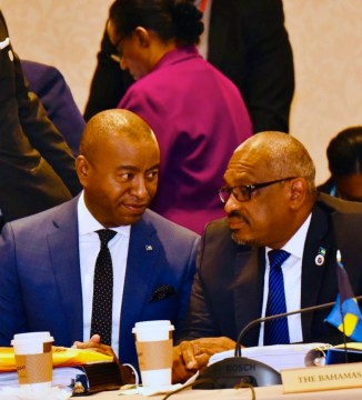 PM and Foreign Affairs Minister at Opening of 30th CARICOM Inter-Sessional
