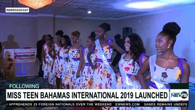 Miss Teen Bahamas International unveils nine beauties