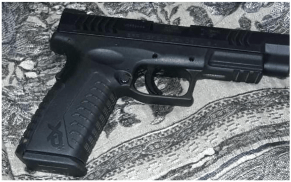 Illegal firearm recovered, two males in custody