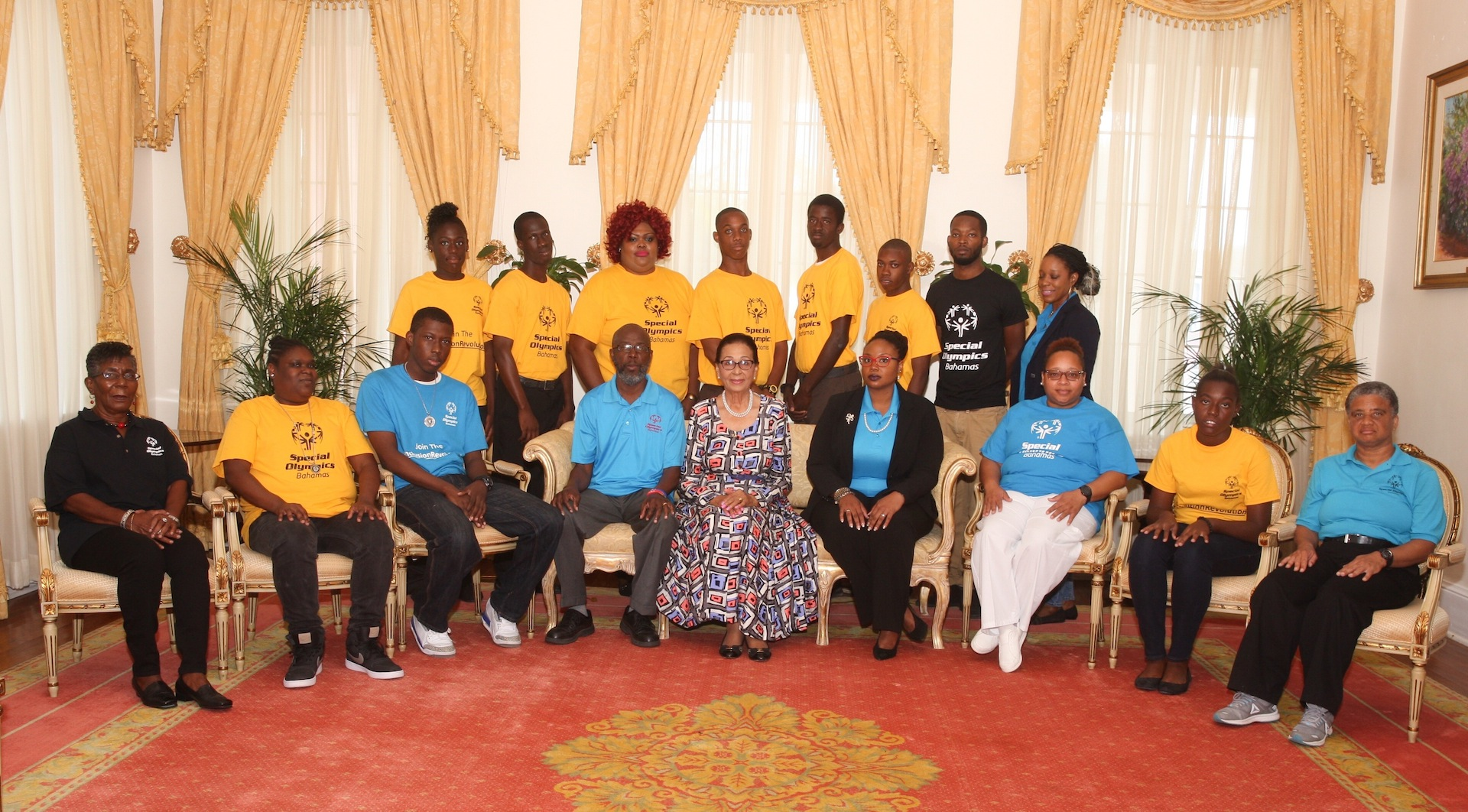 Special Olympics Bahamas team visits GG