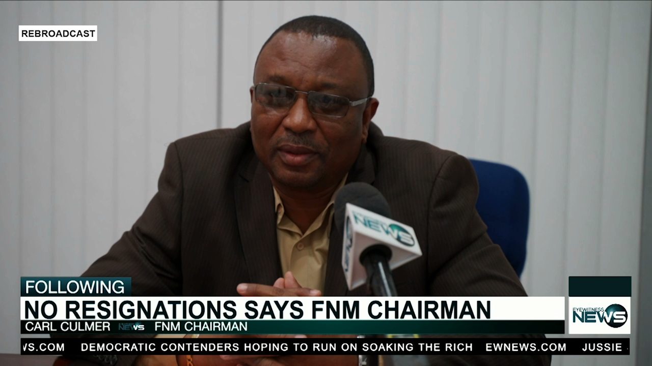 FNM chairman says no resignations coming following Smith's trial