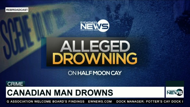 Police report apparent drowning of Canadian tourist at Half Moon Cay