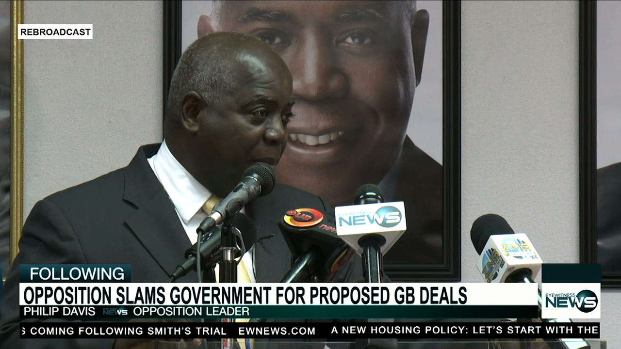 PLP claims govt. stole their ideas for Grand Bahama