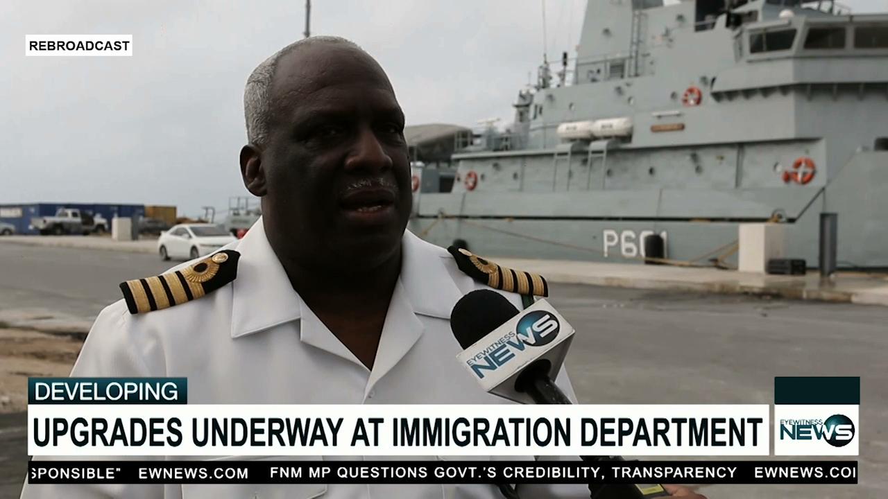 Million-dollar upgrades underway at Immigration Dept.