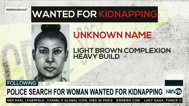 Woman wanted for kidnapping
