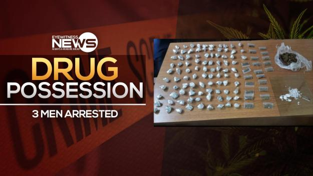 Police make drug arrests in two separate incidents