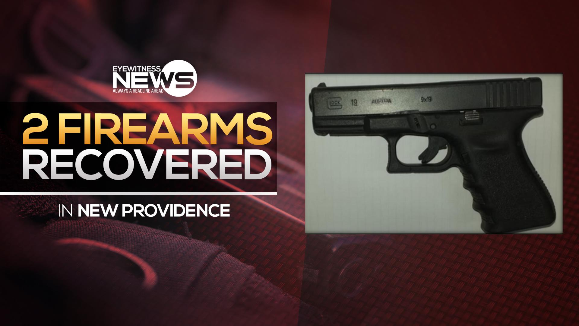 Police recover two illegal firearms