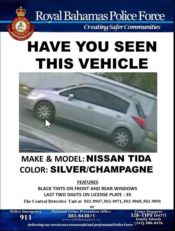 Missing vehicle