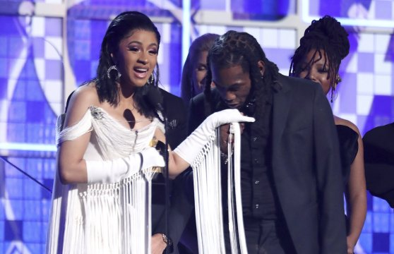 Will Cardi B, under fire for foul past, get past the moment?