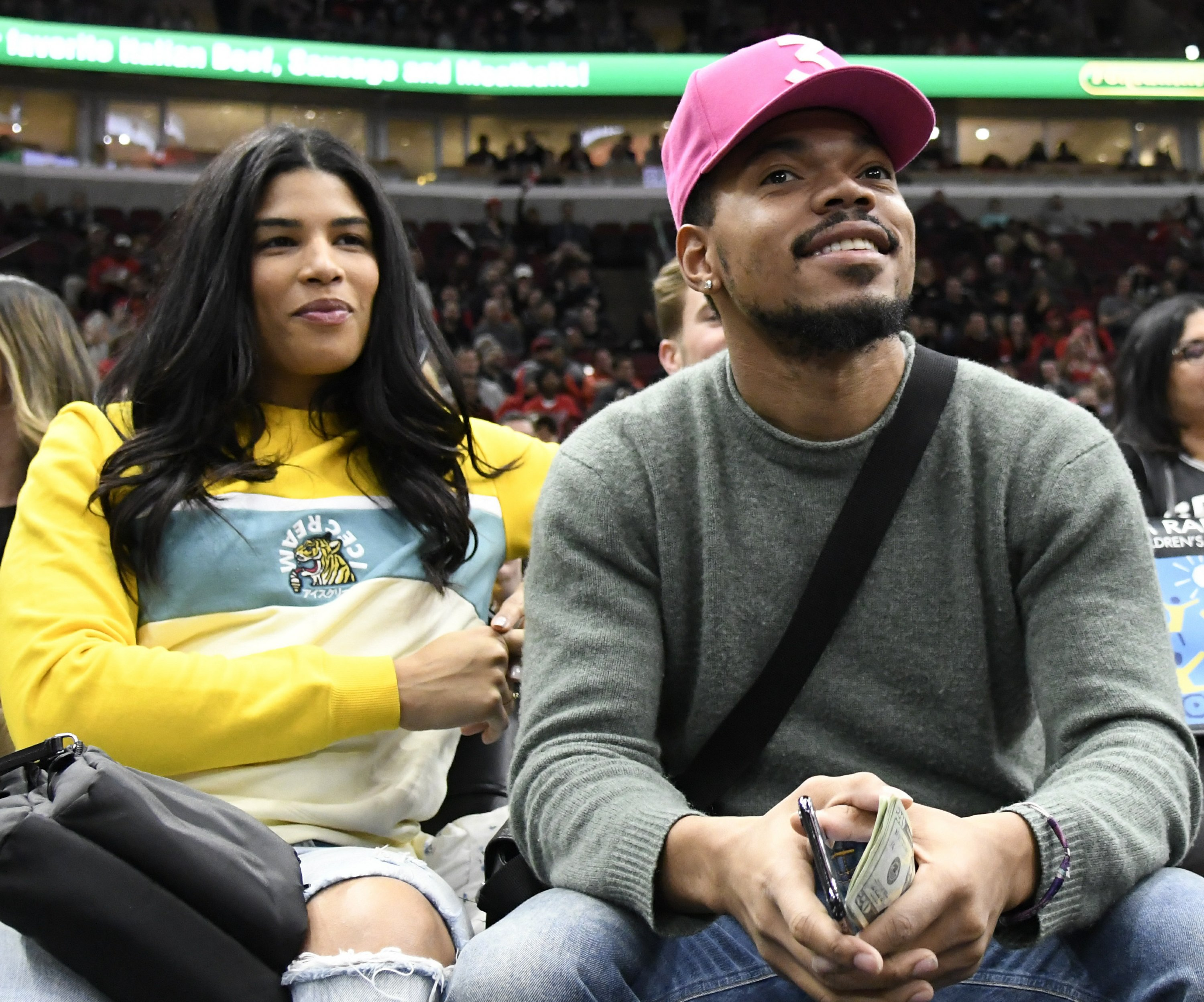 Chance the Rapper marries longtime girlfriend