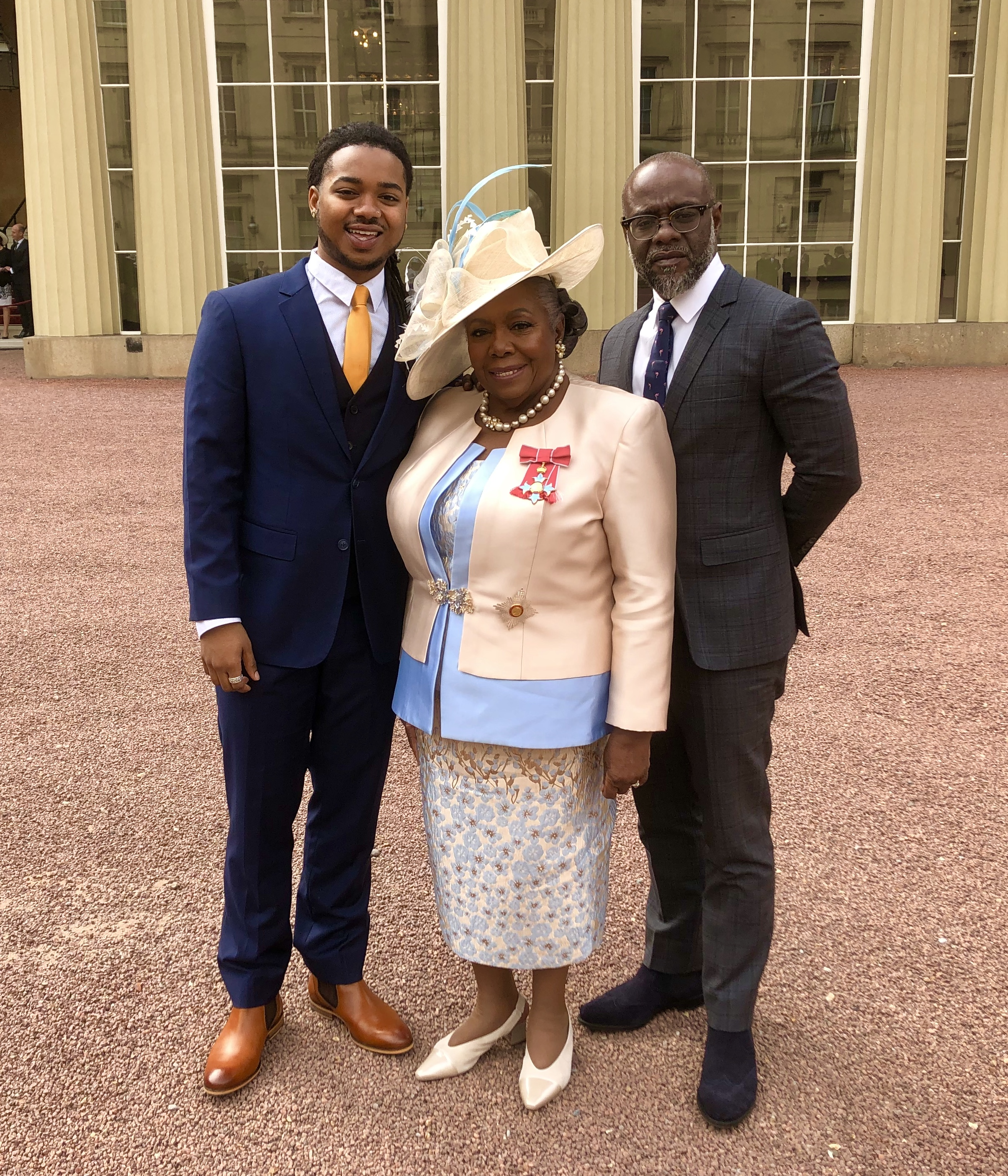 Bostwick named Dame at Buckingham Palace