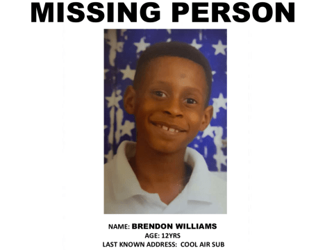 Police search for missing boy