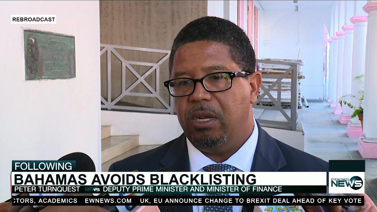 The Bahamas avoids EU's blacklist