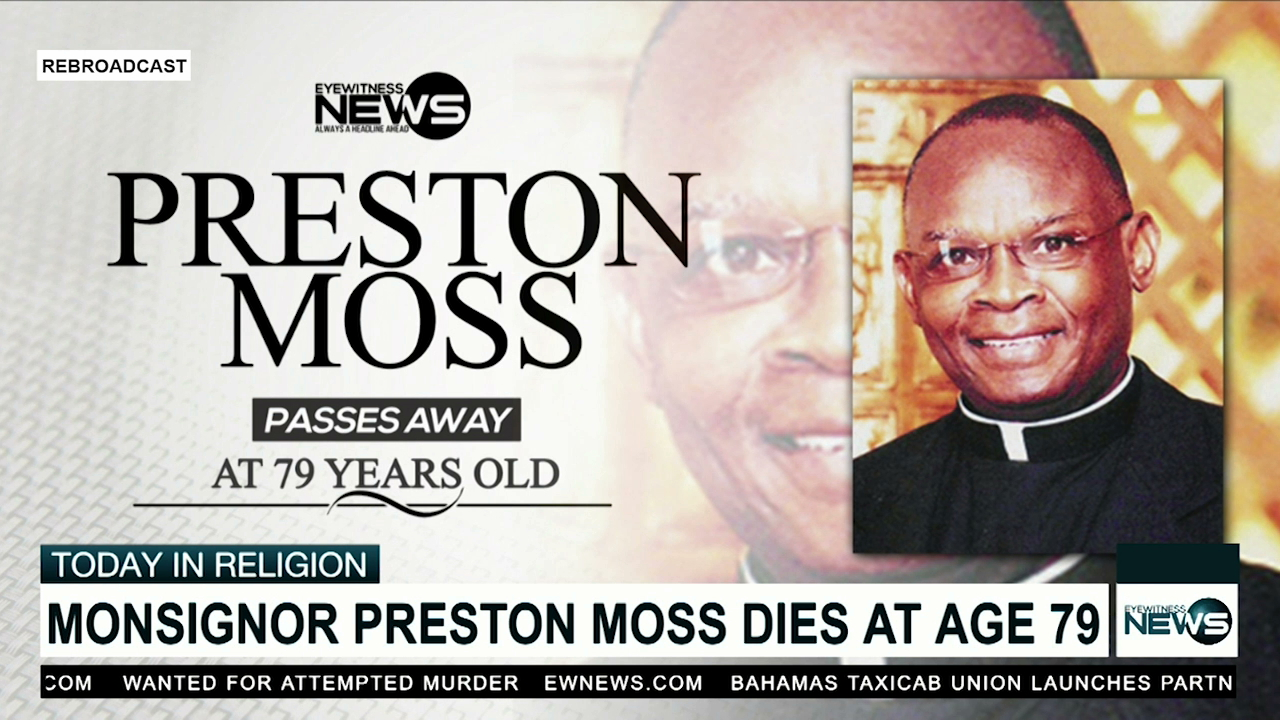 Monsignor Preston Moss, dead at 79