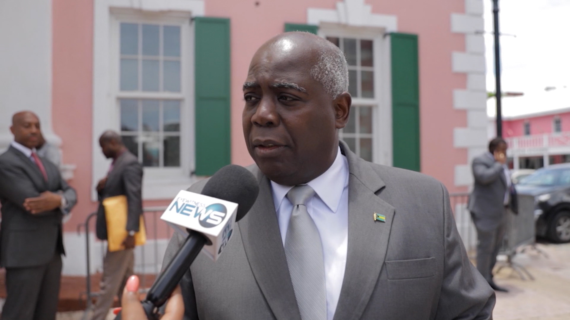 Davis demands answers regarding the security of  Govt. House