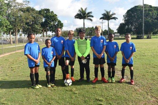 Freeport's FRFC Under 10's soccer team attends international soccer showcase