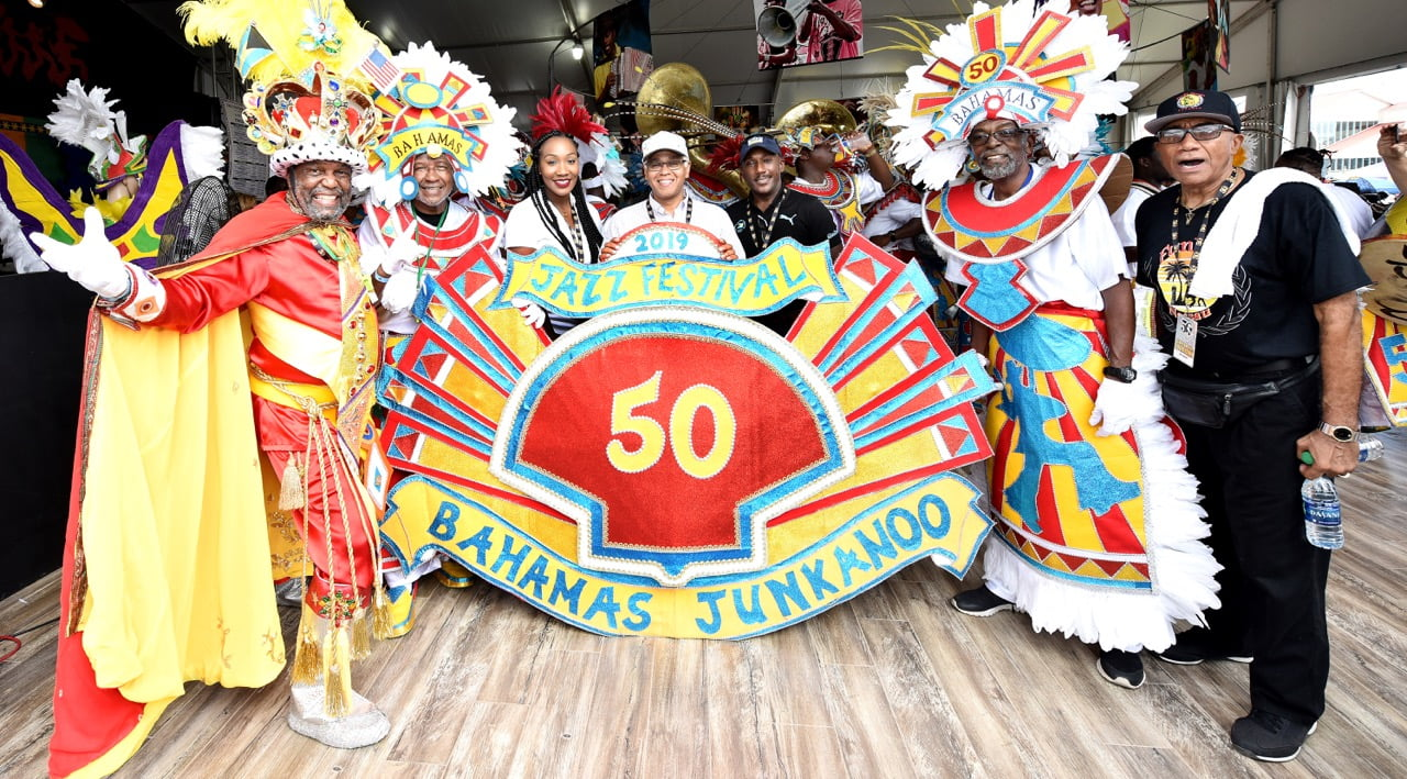 Junkanoo at New Orleans Jazz Festival