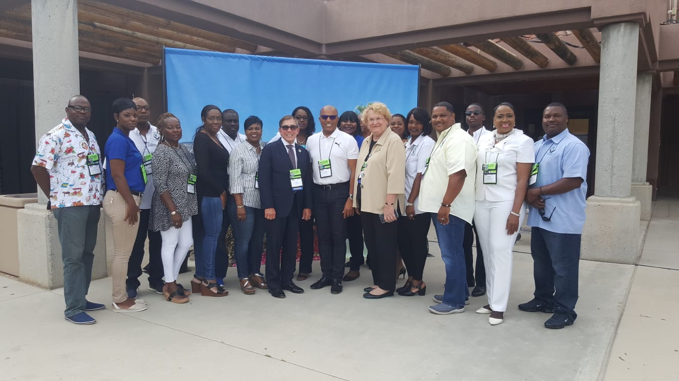 Dames attends Neighbourhoods USA (NUSA) Conference in California