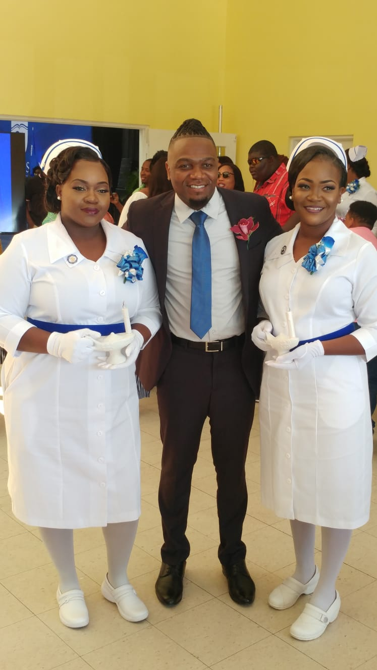 More than 100 nurses get pins from UB