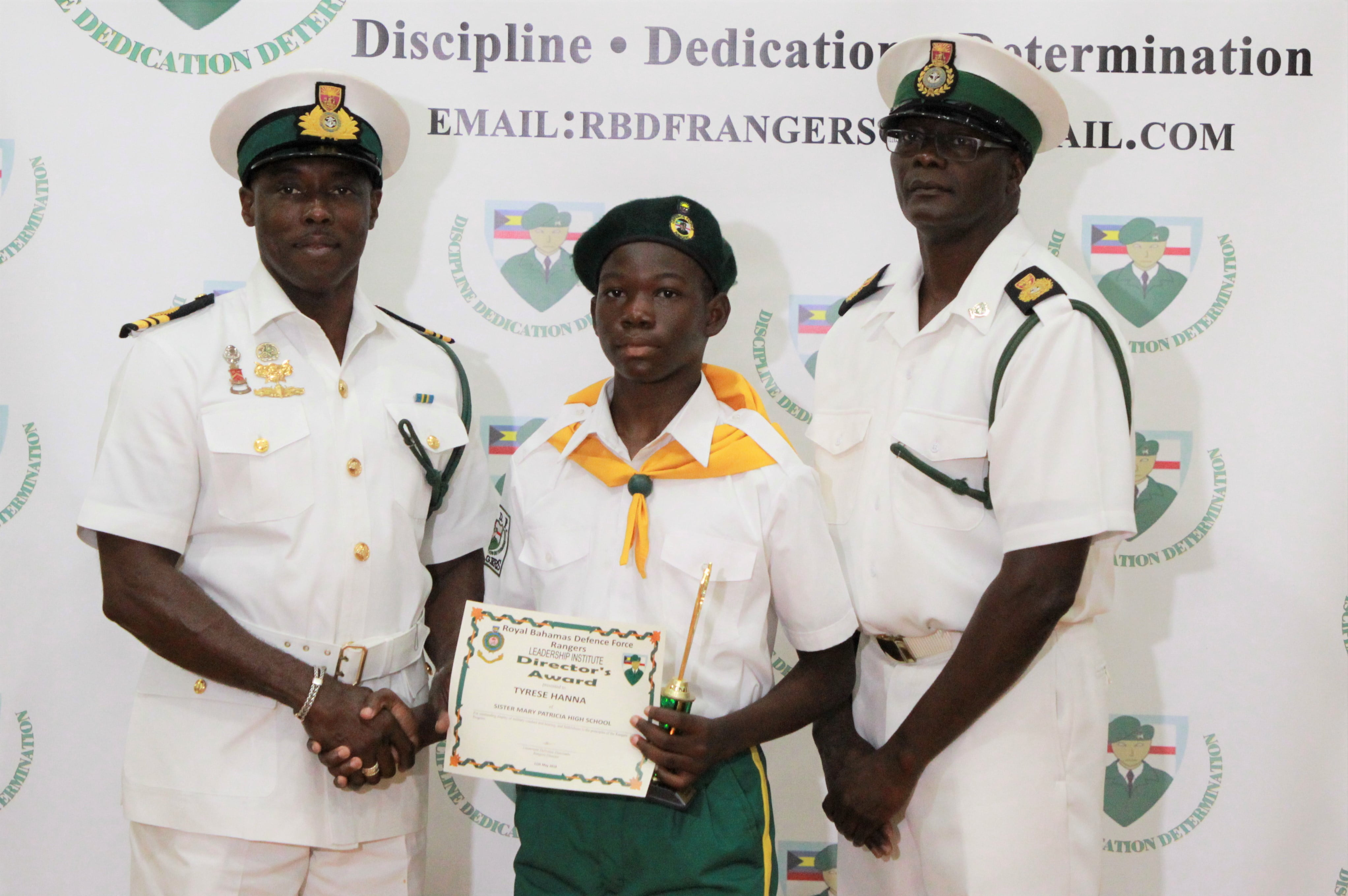 Passing out parade held for RBDF Rangers in GB